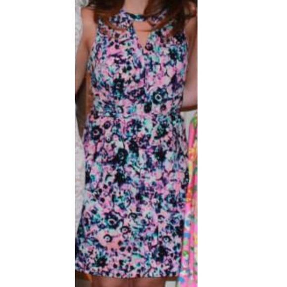 f7d4f47a76c4a CUSP by Neiman Marcus Dresses   Silk Multicolored Sleeveless Dress ...